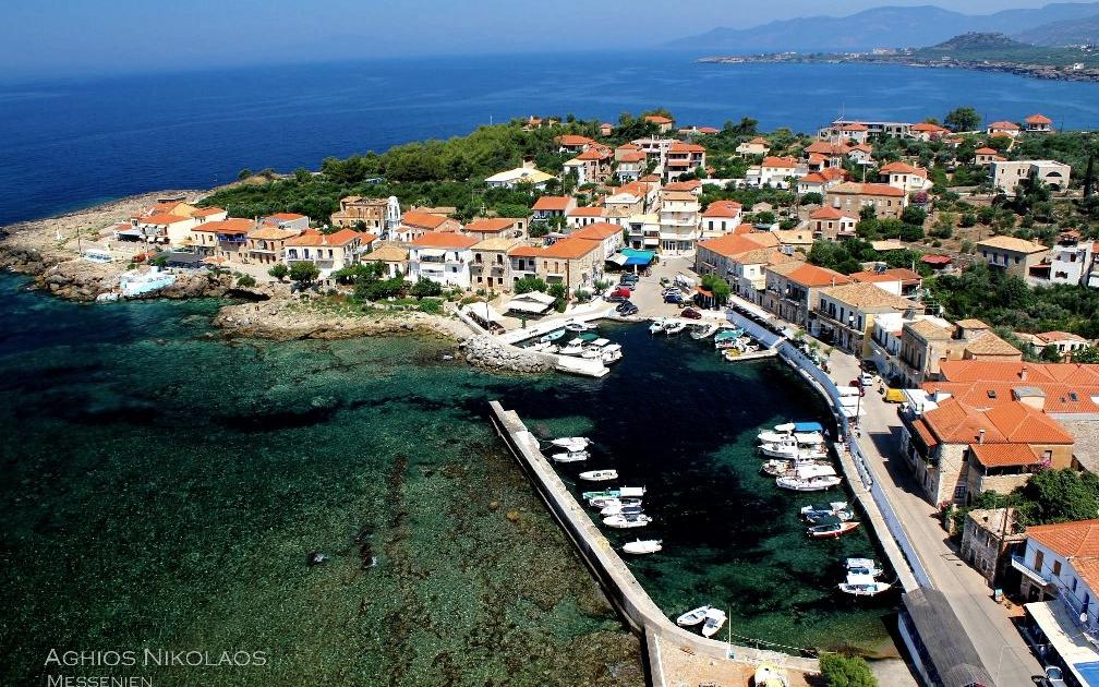 Messenie, Aghios Nikolaos, Urlaub