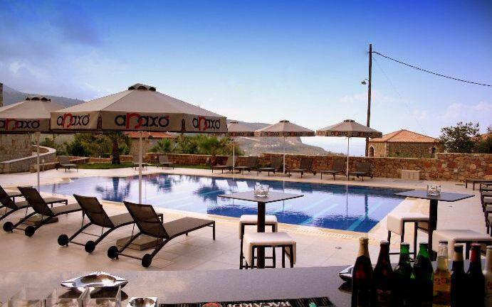 Anaxo Resort, Pool, Außenbereich, Bar