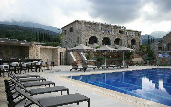 Anaxo Resort, Pool, Außenbereich, Fassade