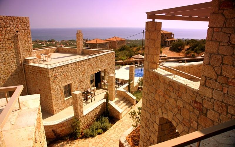 Anaxo Resort, Außenbereich, Fassade