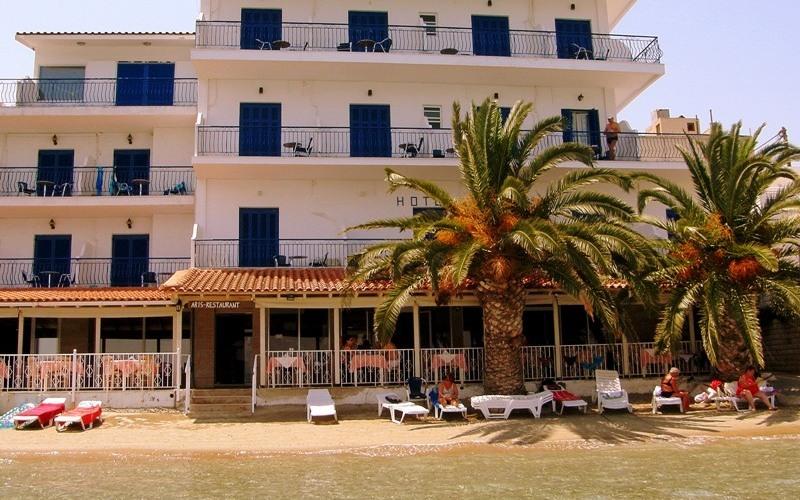 Aris Hotel, Tolo, Balkone, Außen