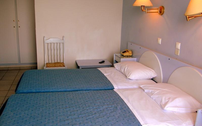 Aris Hotel, Tolo, Schlafzimmer