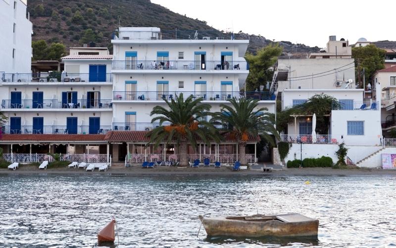 Aris Hotel, Tolo, Außenbereich, Aussehen, Boot