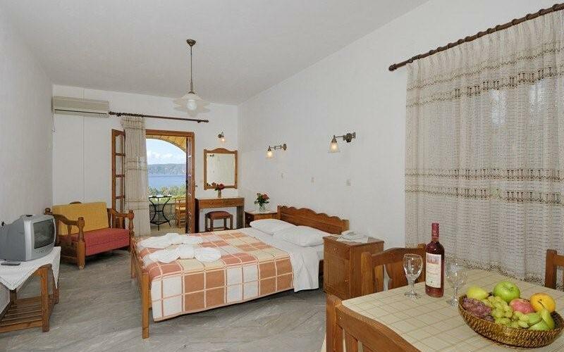 Hotel Vardia, Schlafzimmer