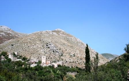 Lakonien, Mani, Peloponnes, Berge, Natur