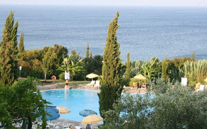Sunrise Village Resort, Petalidi, Pool, Meer