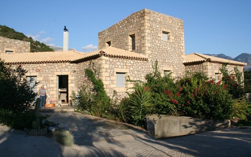 Prosillio Villas, Fassade