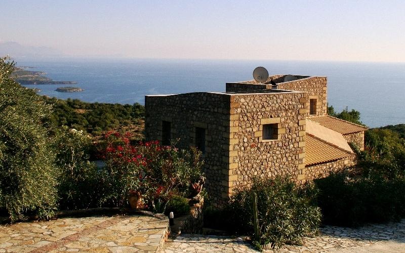 Prosillio Villas, Außenbereich, Aussehen
