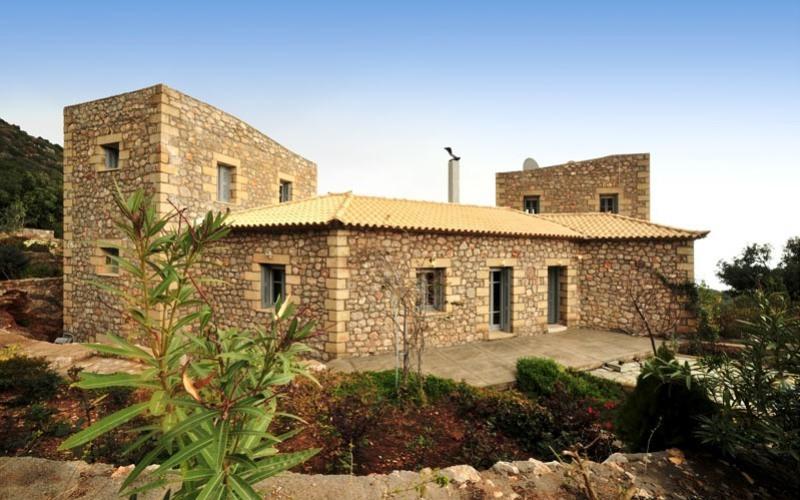 Prosillio Villas, Außenbereich