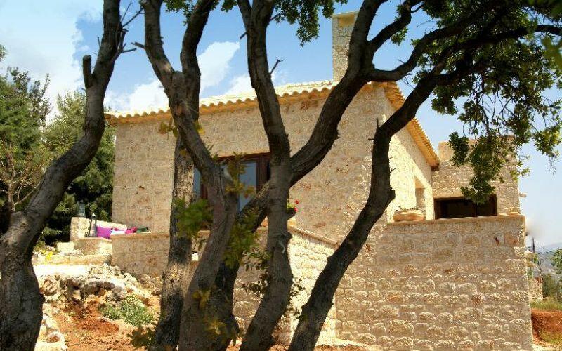 Villa Pelaghia, Außenbereich
