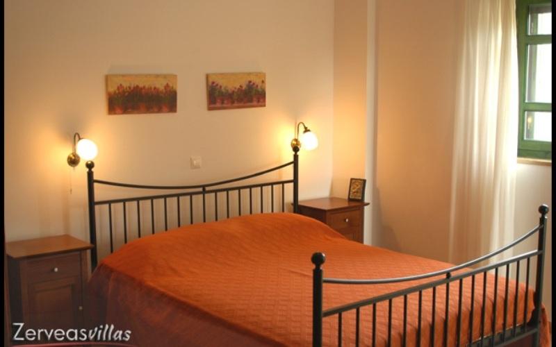 Zerveas Villa, Schlafbereich